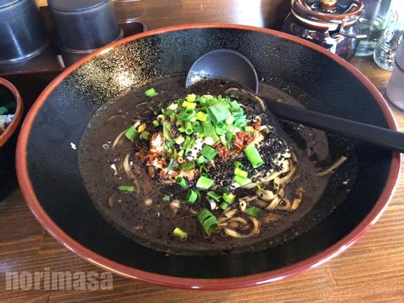三国志 - 真っ黒な担々麺