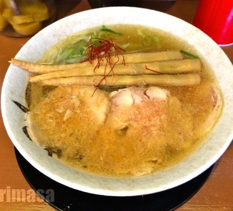 麺屋 裕 - 旨味をしっかり感じる塩スープ