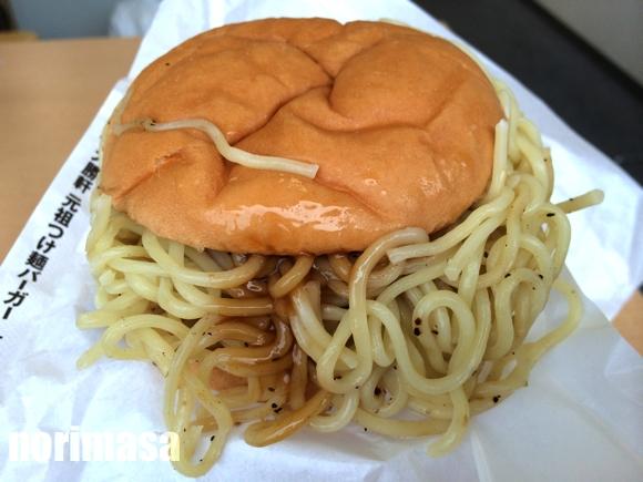 ロッテリア 京都伏見マツモト店 - 大勝軒つけ麺バーガー