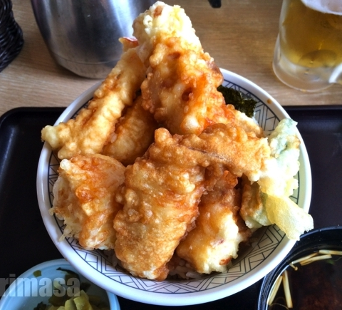 和食さと 竹田 - 肝心の天ぷらが。。