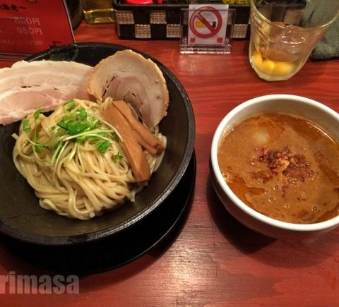 頑固麺 - 昼夜各10食の海老つけ麺
