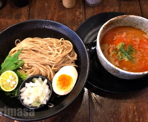 麺心 よし田 - つけ麺は鶏魚介+麺は冷や