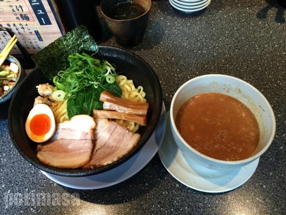 山勝麺三 - やっぱりつけ麺は太麺が好み