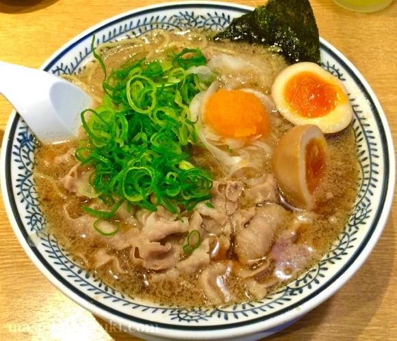丸源ラーメン 京都南インター店 - デフォの「肉そば」がやっぱり一番