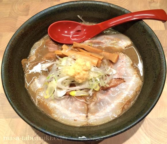 にぼしらーめん88 - 煮干しガッツリの濃厚ラーメン
