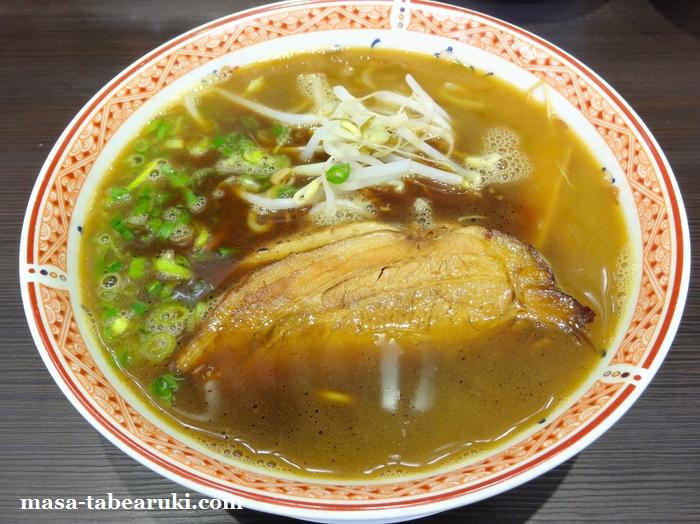 徳島ラーメン大孫 川内店 - 豚骨の風味が欲しいところ