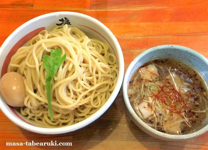 京都塩元帥 - つけ麺は醤油の方が良いか?