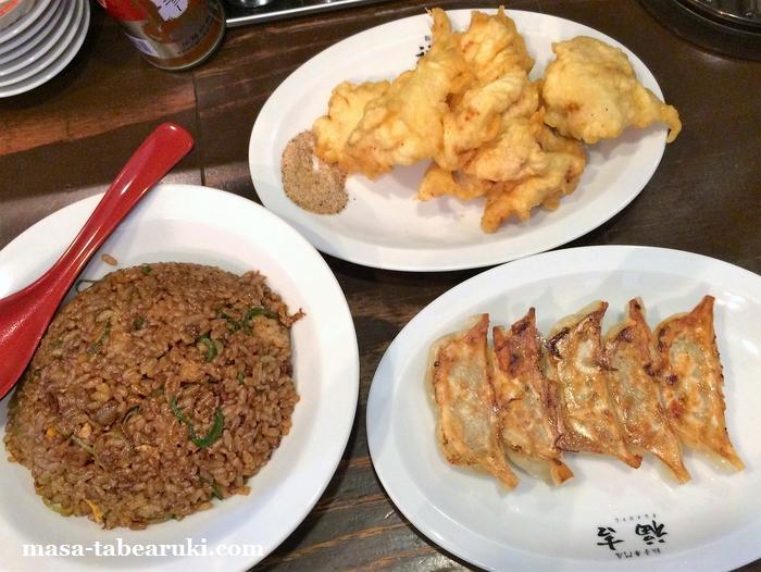 餃子専門店 福吉 - チャーハン定食にご飯・スープお代わり自由は微妙