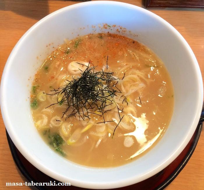 草津 天下ご麺 - 次に食べる時に〆メシは