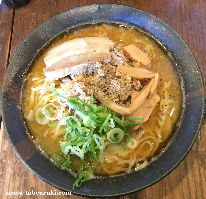 麺心 よし田 - 煮干しと鶏の両方が楽しめる?