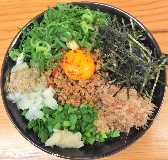 麺屋 いち源 - ようやく食べられた台湾混ぜそば