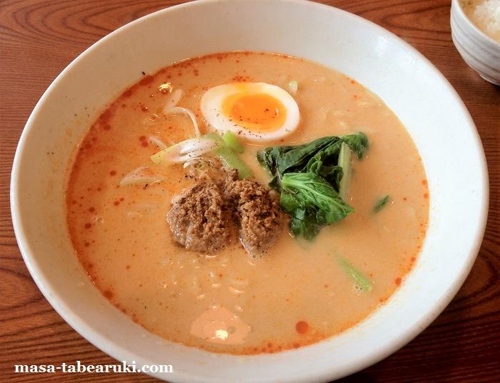 よってこや 伏見桃山店 - 優しい味の担々麺