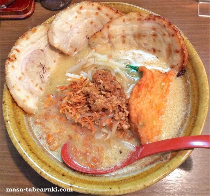 麺場 田所商店 京都伏見店 - 暑い時でも味噌を