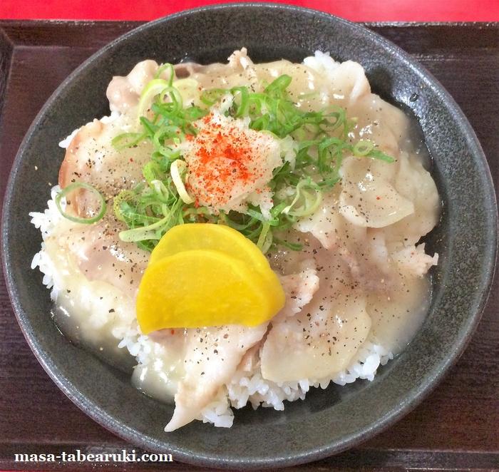 にんにく豚丼 京都・西浦 -  やっぱりここではニンニクを食べたい