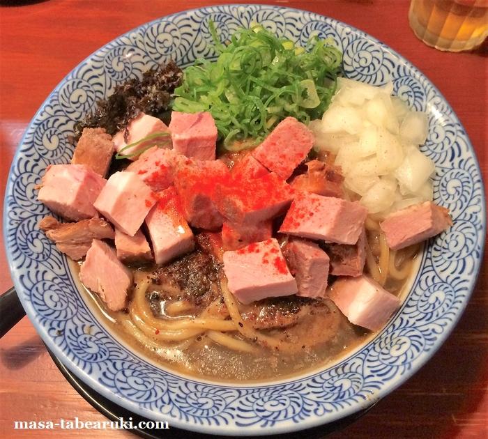 頑固麺 - マンデー頑固麺の限定麺