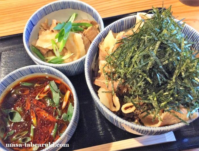 蕎麦 ヒハマタノボル - 肉増のトッピング
