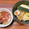 つけ麺 きらり 4年ぶりに訪問した中書島にある伏見屈指の行列店。旨い太麺をピリ辛の