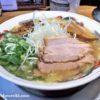 しっかりした魚の風味と旨味を楽しめる、スープ食道 宝の「黒潮ラーメン」